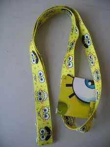 Sponge Bob Square Pants Yellow Lanyard 18
