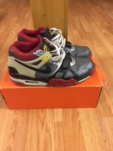 Nike Air Trainer Black/Grey/Red Size 12 $60