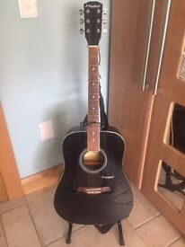 Westfield Acoustic Guitar, plus bag and stand