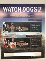 Orologio Dogs 2 San Francisco Collezionisti Edizione Ps4 Punk Street Tema Codes -  - ebay.it
