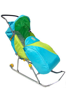 Traineau Poussette, Winter Sled Stroller