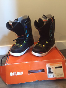 Men's thirtytwo snowboarding boots- excellent condition
