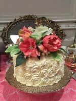 Gold/Champage Cake stand