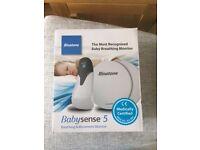 Binatone Babysense 5 Breathing & movement monitor new unused gift