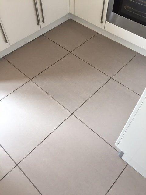 Kitchen Tiles Gumtree light grey porcelain floor tiles (bathroom/kitchen) - 60cm x 60cm