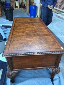 Handsome Wood Desk