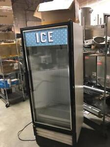 True Glass Door Display Freezer