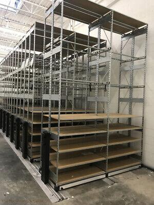 Mobile Warehouse Shelving Roller Racking