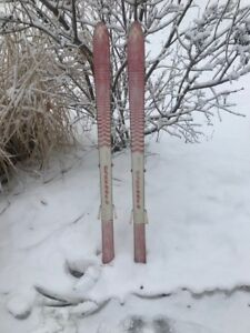 Children's Skis for a child for the snow skiing