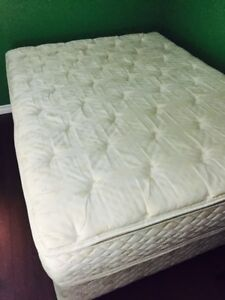 Queen size mattress and box spring $ 100.00 for both