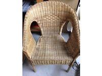 Ikea cane chair Garden & Patio Furniture