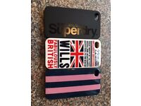 Jack Wills and Superdry Iphone 4S cases