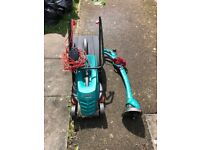 bosch Lawnmower and trimmer