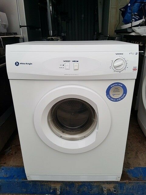 'White Knight' Vented Tumble Dryer - Excellent Condition / Free Local Delivery