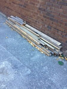 2 x 4's for fencing, etc.