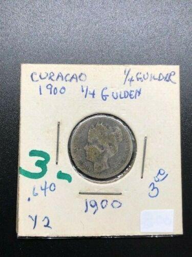 1900 - Curacao - 1/4 Gulden
