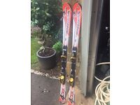 Rossignol 4 Cross XPS Skis. With Bindings. 146cm. Excellent Condition. £50.