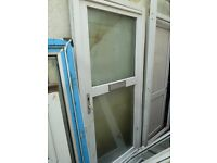 Frosted Double glazed back door