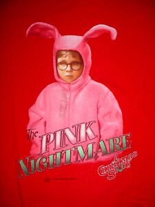 A Christmas Story-Movie-The Pink Nightmare-Ralphie Pink Bunny Suit ...