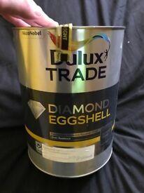 Dulux Trade Diamond Eggshell White 5L RRP £60