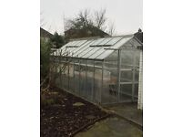 8 X 20 feet aluminium green house - Used