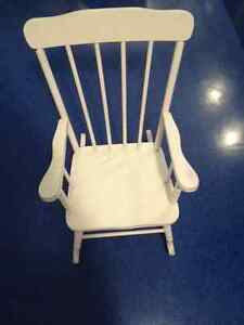 CHILD'S ROCKING CHAIR--Great Condition