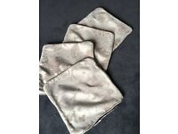 Four brand new unused cushion covers 45 cm x 45 cm