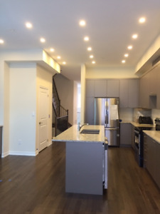 3+1 bdrm townhouse with elevator in Vaughan for rent by owner