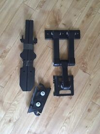 TV wall mount, rotates and swings