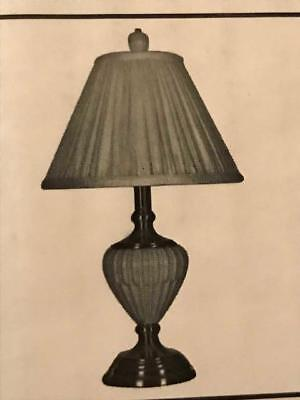 Lenox Quoizel Butlers Pantry Ivory Brass Small Table Lamp New