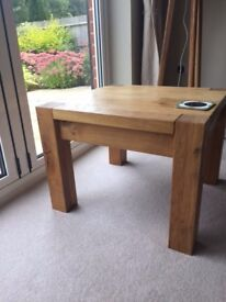 Solid Oak Side Tables x 2 (£25 each) - Can Be Sold Separately