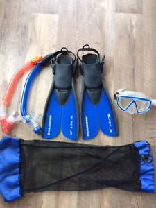 Youth snorkel set