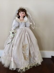Collectable Porcelain Wedding Doll