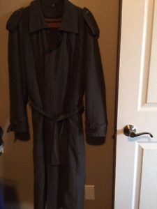 Mens' High-End Multi-Season Long Dress Jcaket (Size M) & MORE!