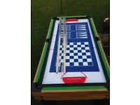 Multi Games Table hardly used Excellent condition Great Christmas Gift