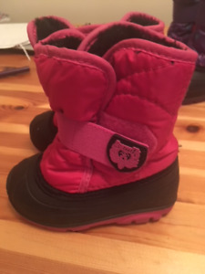 Toddler Girls Winter Boots- size 7