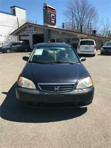2002 HONDA CIVIC LX 220000 KM AIR CLIM 1399
