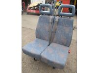 LDV VW Campervan seats, with built in belts good Conditiion FREE local Delivery