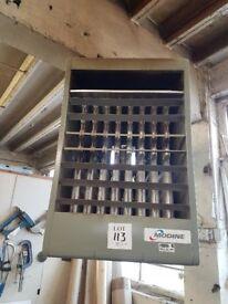 industrial gas heater fo workshop/studio MODINE