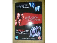 I Know What You Did Last Summer 3 Disc DVD Box Set 2006