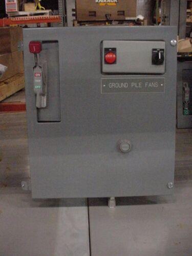 New Size 3 Square D MCC Motor Starter Bucket Circuit Breaker Model 6 sections