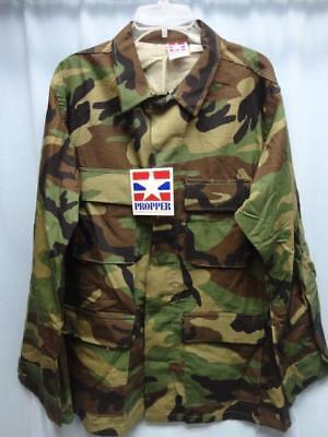 Propper 9600 BDU Camo Coat Shirt 4 Pocket Size M - New Camo Propper Bdu Shirt