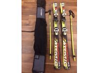 Atomic Supercross SX8.2 with Atomic race 725 bidnings, poles and bag - (120 cm)