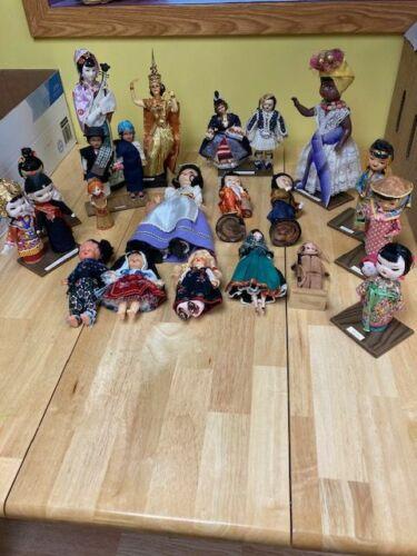 Vintage Souvenir International Dolls - 20+