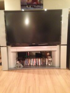 "52"" Torshiba DLP Big Screen TV with Matching TV Stand"