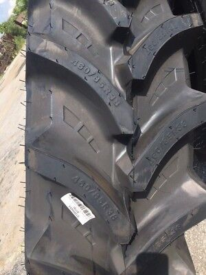 Two 46085r38 460-85-38 R1 Tubeless Starmaxx Farm Tractor Tires