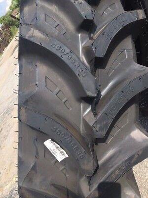 Two 46085r38 460-85-38 R1 Tubeless Starmaxx Farm Tractor Tires