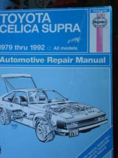1992 toyota celica front bumper other parts accessories toyota celica supra workshop service manual 1979 1992 fandeluxe Choice Image