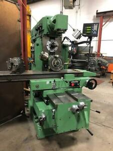 Arsenal FUV 321M Universal Milling Machine ***BIDDING IS LIVE*** Canada Preview
