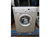 Silver 'Indesit' Digital Washing Machine - Excellent condition / Free local delivery and fitting